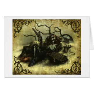 """Powder & Bones"" (Blank Inner) Card"