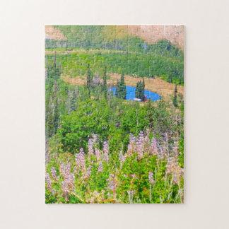 Powder Mountain Summertime: Hidden Lake Jigsaw Puzzle