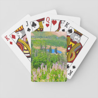 Powder Mountain Summertime Playing Cards