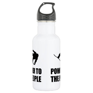Powder Snow To The People Ski 532 Ml Water Bottle