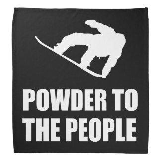 Powder Snow To The People Ski Bandana