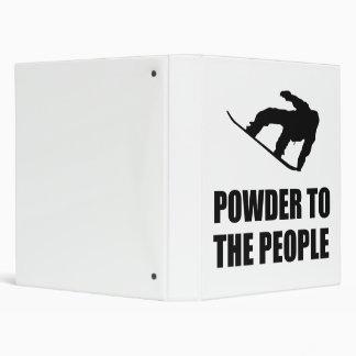 Powder Snow To The People Ski Binders
