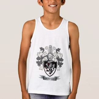 Powell Family Crest Coat of Arms Tank Top