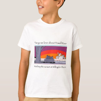 Powell river  copy T-Shirt
