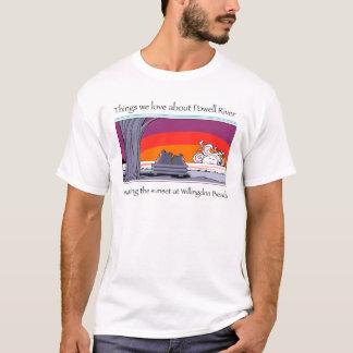 Powell river  copy T-Shirt