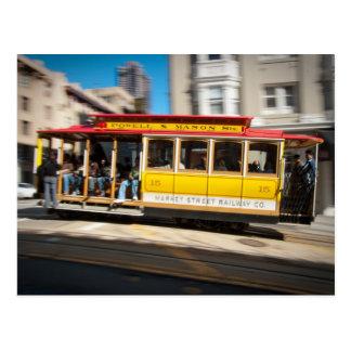 Powell Street Cable Car Postcard