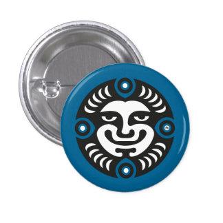 Power 1 Inch Round Button