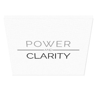 Power And Clarity Canvas Print