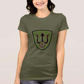 Power and Peace - Trident - Peace Sign T-Shirt