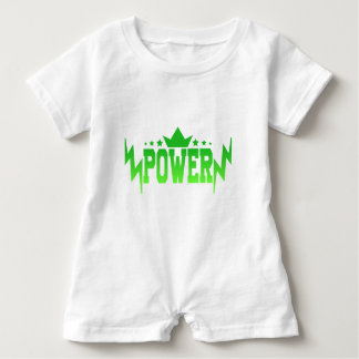 POWER BABY ROMPER