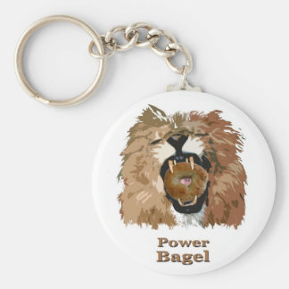 Power Bagel Keychain