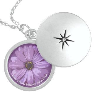 Power & Beauty Within - Silver Locket