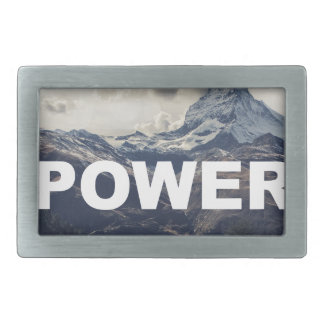 Power Belt Buckles