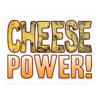 Power Blue Cheese Postcard