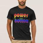 Power Bottom Rainbow Colours T-Shirt