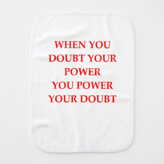 POWER BURP CLOTH