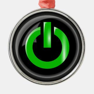 Power Button Ornament