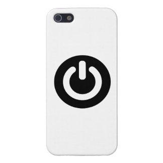 Power button symbol iPhone 5/5S case