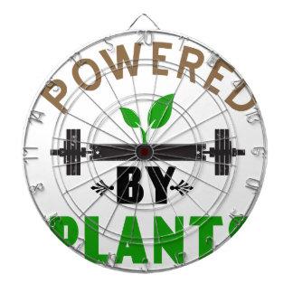 power by plants cute design dartboard