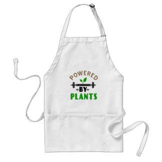 power by plants cute design standard apron