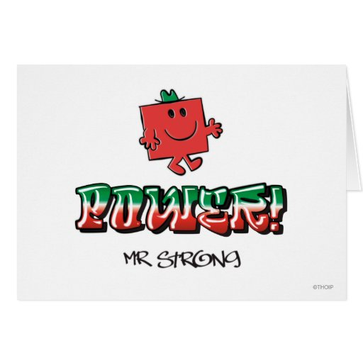 Power! Greeting Cards
