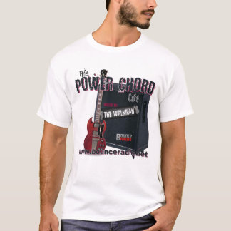 Power Chord Cafe Adult T-Shirt