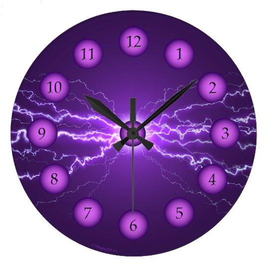 Power Clock Purple