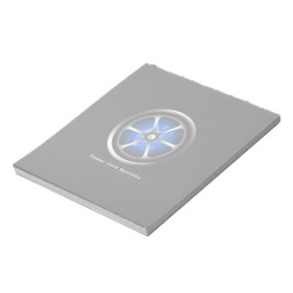 Power core notepad