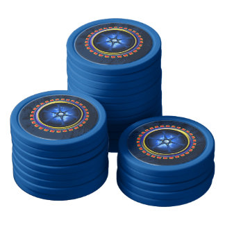 Power Core Set Of Poker Chips