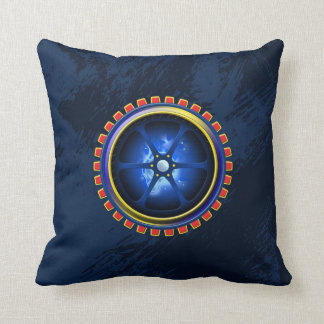 Power Core Throw Pillow
