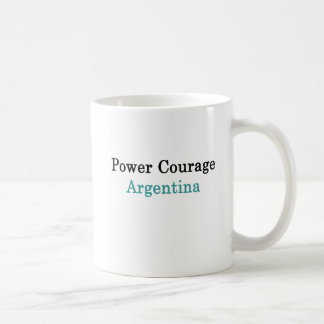 Power Courage Argentina Coffee Mug