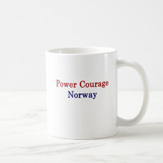 Power Courage Norway Coffee Mug