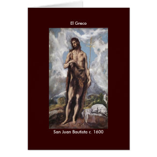 Power El Greco - Customized Card