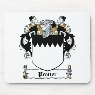 Power Family Crest Mouse Pad