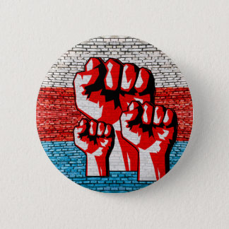Power Fist 2 Inch Round Button