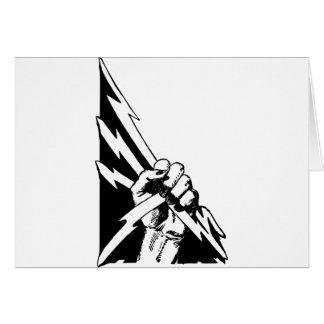 Power Fist Card