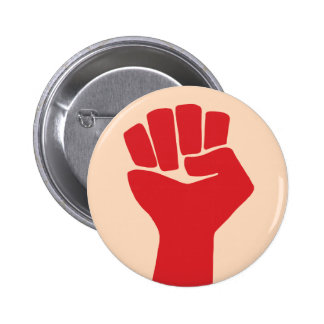 Power Fist Sixties Resist 2 Inch Round Button