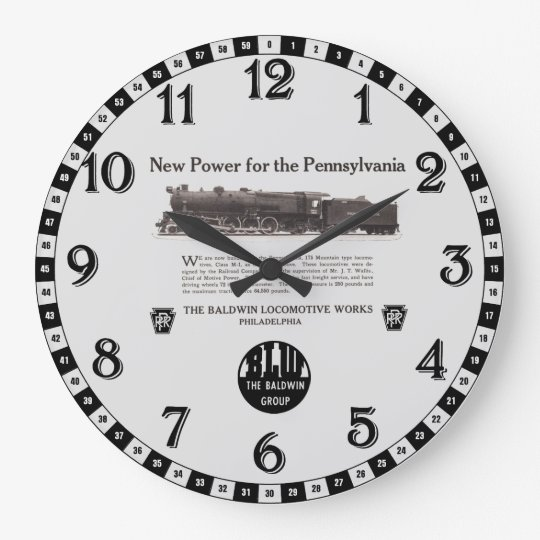 Power For The Pennsylvania Railroad 1926 Wall Clocks