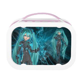 power girls lunch box