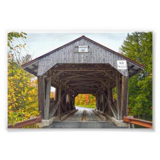 Power House Covered Bridge, Vermont Photo Print