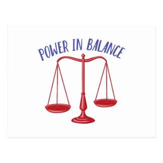 Power In Balance Postcard