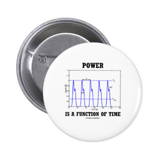 Power Is A Function Of Time (Physics) Pins