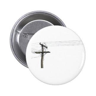power lines 2 inch round button