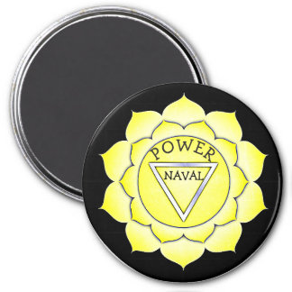 Power Naval Yellow Chi Chakra Magnet
