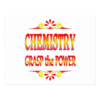 Power of Chemistry Postcard