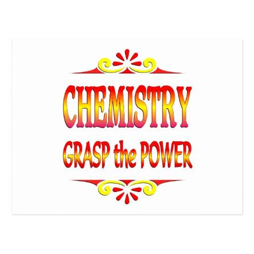 Power of Chemistry Postcard