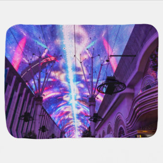 Power Of Fremont Street Baby Blanket