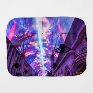 Power Of Fremont Street Burp Cloth