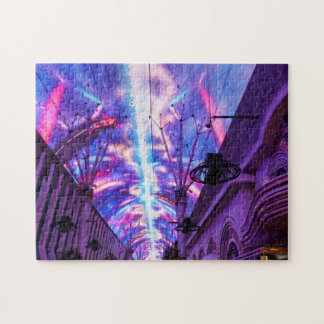 Power Of Fremont Street Jigsaw Puzzle