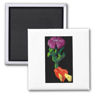 Power of Love Square Magnet
